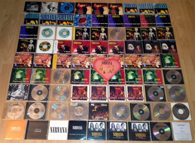 CD nirvana collection