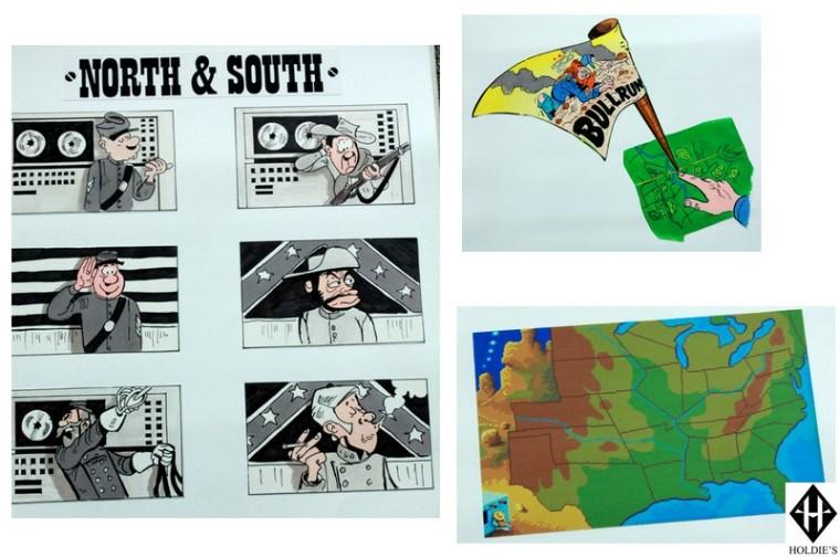 scénario north and south