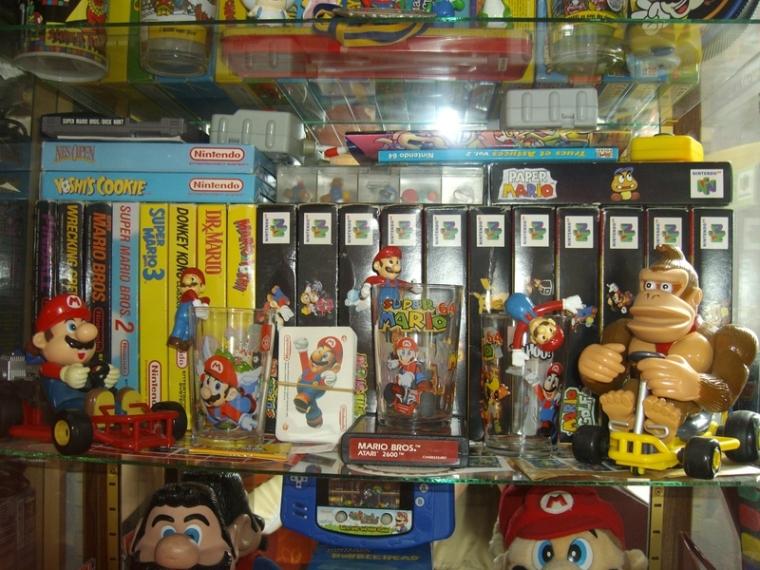 collec tion jeux Mario