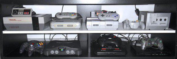 collection console jeux vidéo