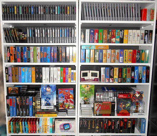 collection jeux vidéo