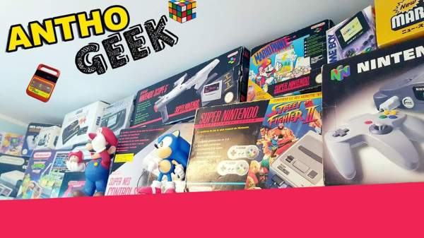0 Anthony : collectionneur Retrogaming et Youtubeur
