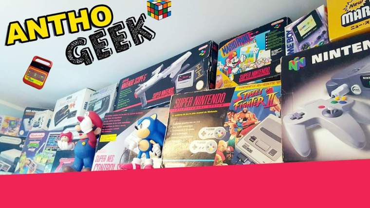 4 Anthony collectionneur Retrogaming et Youtubeur