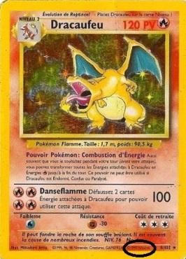 Dracaufeu Wizards Carte Collectionner les cartes Pokémon