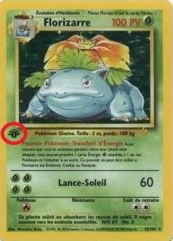 Florizarre Wizards Carte Collectionner les cartes Pokémon