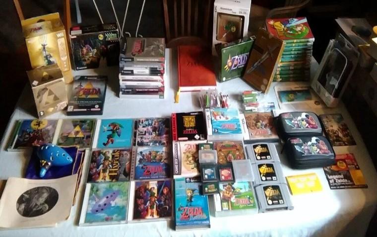 Collection Zelda 1 en vente sur Holdies