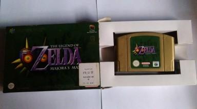 Collection Zelda Majora's Mask N64 en vente sur Holdies
