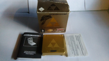 Collection Zelda Game Boy Advance SP en vente sur Holdies