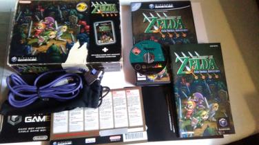 Collection Zelda Four Swords Gamecube en vente sur Holdies