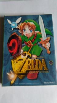 Collection Zelda en vente sur Holdies Soleil Manga 7