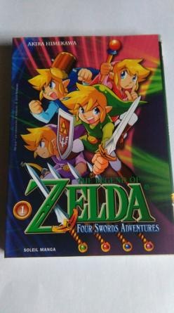 Collection Zelda en vente sur Holdies Soleil Manga 8