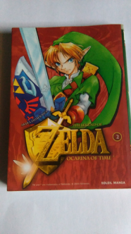 Collection Zelda en vente sur Holdies Soleil Manga 1