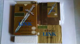 Collection Zelda 2 NES en vente sur Holdies