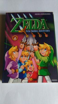 Collection Zelda en vente sur Holdies Soleil Manga 9