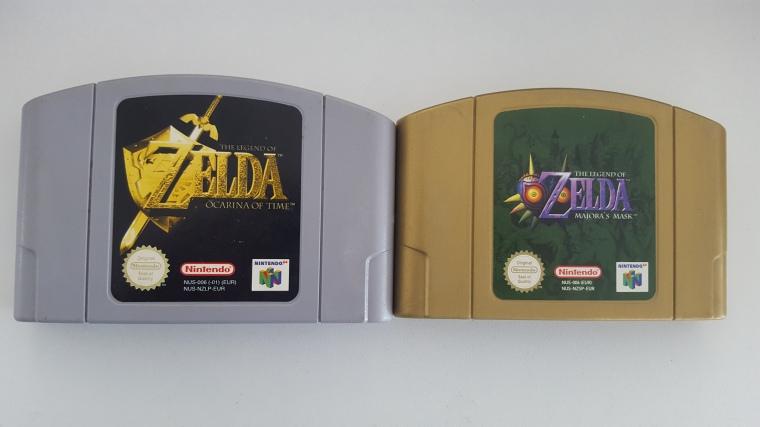 Zelda N64 Majora's Mask Link to the past