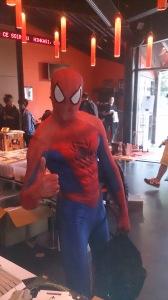 vide grenier du geek holdies Spiderman