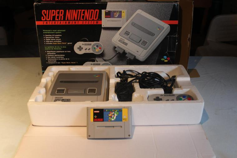 pack super nintendo mario world