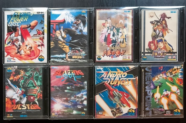Neo Geo collection
