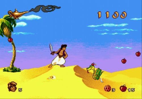 Aladdin top 10 jeux megadrive