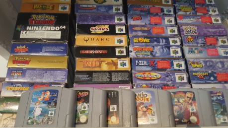 collection intendo 64