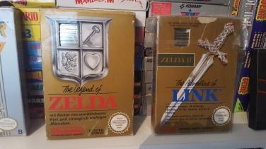 Zelda 1 et 2 NES