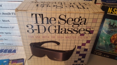 The Sega 3-D Glasses