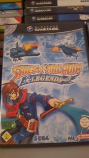 Pack Skies of Arcadia Gamecube