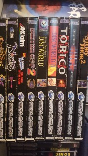 Sega saturn collection