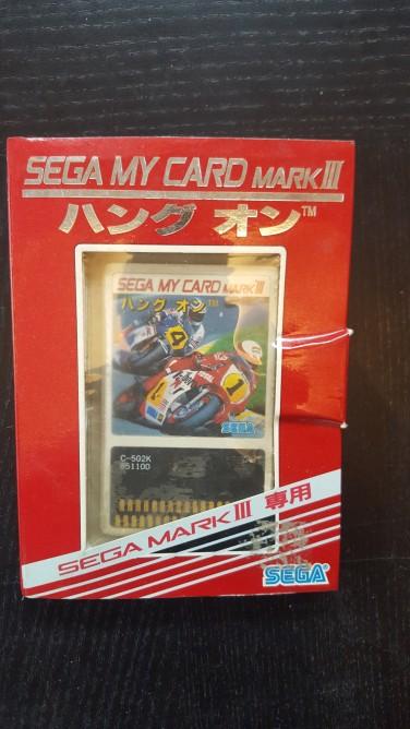 Sega Card Jap en boite
