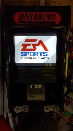 borne d'arcade super nintendo