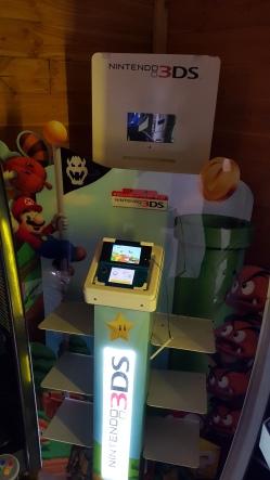 borne d'arcade nintendo 3DS