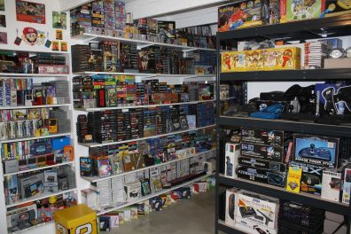Collection retrogaming exceptionnelle Holdies