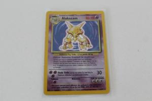 Alakazam Carte Pokemon Wizards Set de Base Holo Rare
