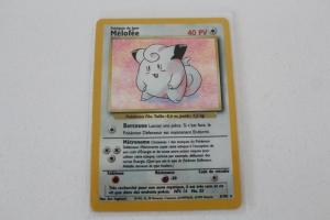 Melofee Carte Pokemon Wizards Set de Base Holo Rare