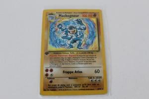 Mackogneur Carte Pokemon Wizards Set de Base Holo Rare