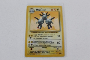 Magneton Carte Pokemon Wizards Set de Base Holo Rare