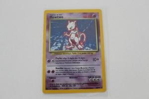 Mewtwo Carte Pokemon Wizards Set de Base Holo Rare