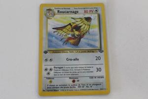 Roucarnage Edition 1 Jungle Carte Pokemon Rare Holo