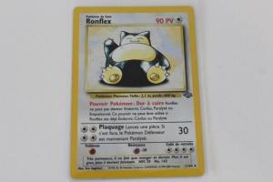 Ronflex Edition 1 Jungle Carte Pokemon Rare Holo