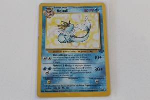 Aquali Edition 1 Jungle Carte Pokemon Rare Holo