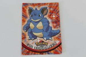 Nidoqueen Topps Carte Pokemon Serie anime TV