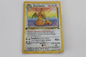 Dracolosse Edition 1 Fossile Carte Pokemon Rare Holo