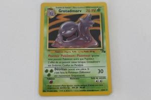 Grotadmorv Edition 1 Fossile Carte Pokemon Rare Holo