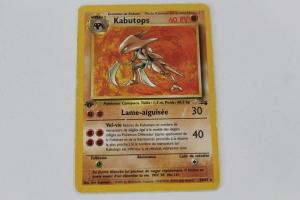 Kabutops Edition 1 Fossile Carte Pokemon Rare Holo