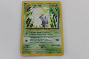 Cotovol Carte Pokemon Rare Wizards Holo Edition 1