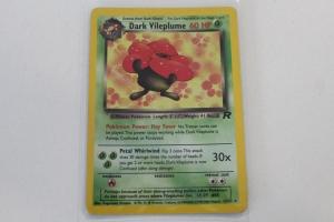 Rafflesia Rocket Carte Pokemon Rare Wizards Holo Edition 1