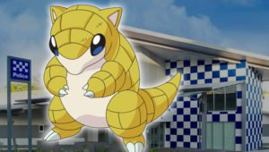 Sabelette commissariat Australie Pokemon GO Sandshrew