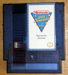 cartouche nes rare saint graal nes world championship nintendo 1990 copie réplique numero