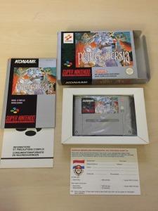 SNES FAH Nintendo Prince of Persia Rare Complet