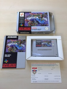 Turtles in Time SNES FAH Complet Nintendo Rare